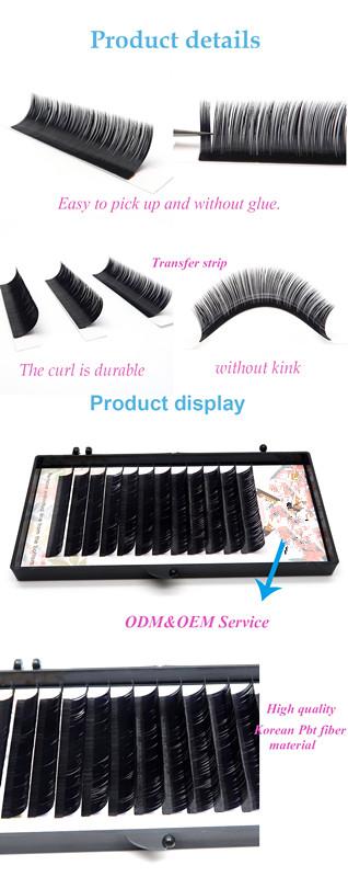 Premium Silk Eyelashes Extension Individual Lashes